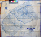 Denny's pocket map of Merced County, California : compiled from latest official and private data.