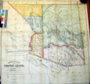 Official map of the Territory of Arizona : with all the recent explorations / compiled by Richard...