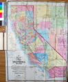 A new map of the states of California and Nevada : exhibiting the rivers, lakes, bays and islands,...