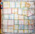 MacLean & Lawrences sectional map of Kansas Territory : compiled from the U.S. survey's / by...