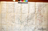 Map of the United States Military Rail Roads : showing the rail roads operated during the war from...