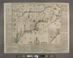 A map of ye English Empire in ye continent of America : viz Virginia, Mary Land, Carolina, New...