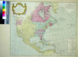 Map of North America by J. Palairet With considerable Alterations & Improvements from...