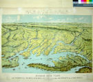 Panorama of the Seat of the War. Birds Eye View of Virginia, Maryland, Delaware and the District...