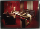 [Office furniture]. Desk and Red...