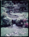 [Unidentified gardens]. Water...