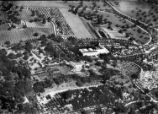 Aerial photo of the north section of the San Marino ranch, circa 1921.