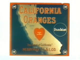 California Oranges.