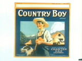 Country Boy Brand.
