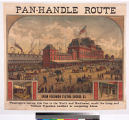 Pan-Handle route : Union Passenger Station, Chicago, Ill.