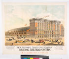 New terminal depot at Philadelphia Reading Railroad System. : R.J. Allen, Son & Company,