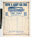 Boston & Albany Rail Road. : 1875. Time table commencing Monday, Nov. 1st. 1875.