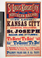 St. Louis, Kansas City and Northern Railway. : From St. Louis to Kansas City Lexington,...