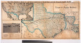 Map of the Texas & Pacific Railway and connections. : The true Southern route to and from...