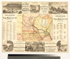 Chicago, Milwaukee and St. Paul railway. The Milwaukee and Mississippi Valley route to the great...
