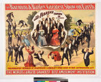 The Barnum & Bailey greatest show on Earth : the great Florenz Troupe 12 in number ...