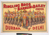 Ringling Bros and Barnum & Bailey Combined Circus : Durbar of Delhi.