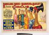 Ringling Bros and Barnum & Bailey Combined Circus : presenting a stupendous new congress of...