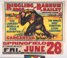 Ringling Bros and Barnum & Bailey Combined Shows : Gargantua the great.