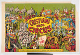 Cristiani Bros. Circus : 3 ring : giant safari parading 12 noon on your streets.