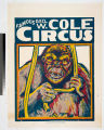 Famous Geo. W. Cole Circus.