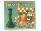 Chess Queen Brand.