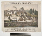 Engel & Wolf's brewery & vaults at Fountain Green.