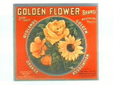 Golden Flower Brand.
