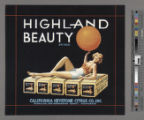 Highland Beauty Brand.