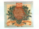 Holly Wreath Brand.