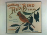 Oatman's Red Bird Brand.