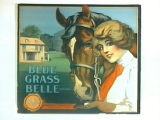 Blue Grass Belle Brand.