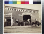 Howard's Livery Stable, where Booth hired the horse on which he escaped.