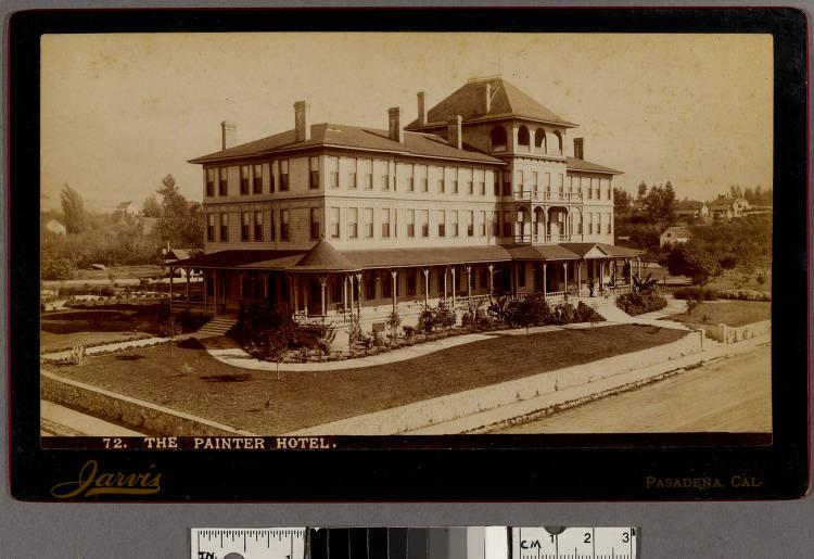 Painter Hotel  (recto) - Photographs - Huntington Digital