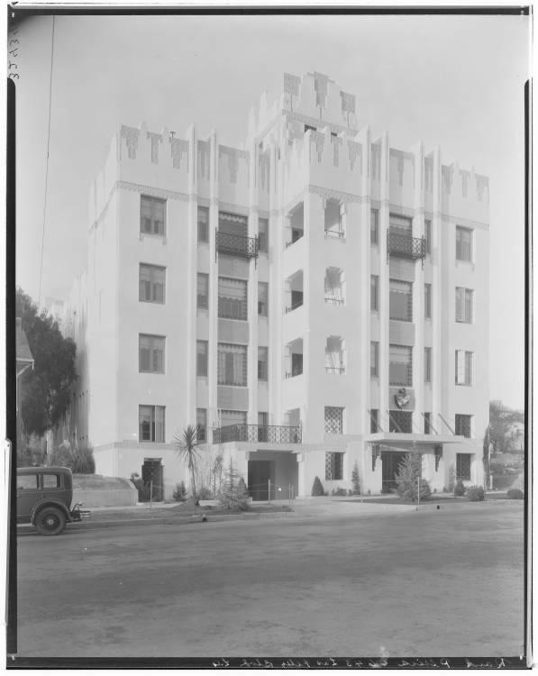 Apartment Building 4643 Los Feliz Angeles 1929